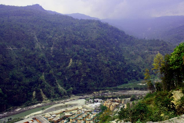 Sikkim dams - 2834 - dam site