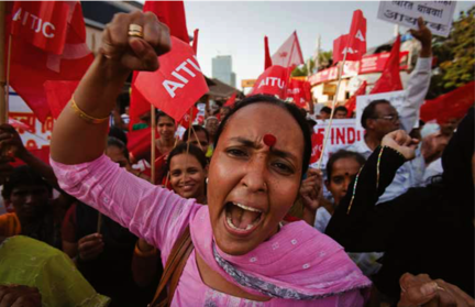 Anti nuke demo Mumbai Vivek Prakash Reuters - NI NGO story